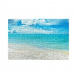 Blue Sky And Sea puzzle, 1000 Piece Wooden Fun Jigsaw,Apply to Graduation Gift 75cm X 50cm