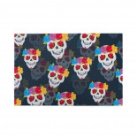 Human Skull And Flower puzzle, 1000 Piece Wooden Fun Jigsaw,Apply toAnniversary 75cm X 50cm