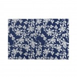 Navy Blue Floral puzzle, 1000 Piece Wooden Fun Jigsaw,Apply toFamily 75cm X 50cm