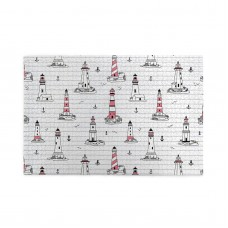 Nautical Elements Seagulls And Anchors Style puzzle, 1000 Piece Wooden Fun Jigsaw,Apply to Graduation Gift 75cm X 50cm