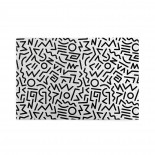 Monochrome Abstract puzzle, 1000 Piece Wooden Fun Jigsaw,Apply to Graduation Gift 75cm X 50cm