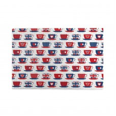 Britain Themed Teacup Forms Patterned puzzle, 1000 Piece Wooden Fun Jigsaw,Apply toAdult 75cm X 50cm