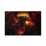 Steel Red Dragon Square puzzle, 1000 Piece Wooden Fun Jigsaw,Apply toFamily 75cm X 50cm