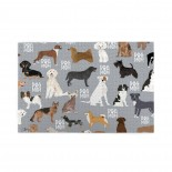 Dogs Mom puzzle, 1000 Piece Wooden Fun Jigsaw,Apply toFamily 75cm X 50cm