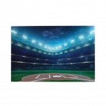 Professional Baseball Field At Night puzzle, 1000 Piece Wooden Fun Jigsaw,Apply toAdult 75cm X 50cm