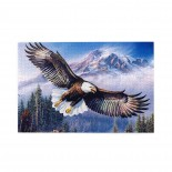 Eagle puzzle, 1000 Piece Wooden Fun Jigsaw,Apply toAdult 75cm X 50cm