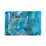 Watercolor Seal puzzle, 1000 Piece Wooden Fun Jigsaw,Apply to Graduation Gift 75cm X 50cm