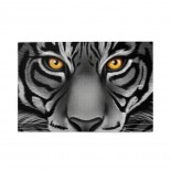 White Tiger Face puzzle, 1000 Piece Wooden Fun Jigsaw,Apply toAdult 75cm X 50cm