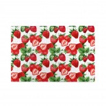 Watercolor Strawberry Pattern puzzle, 1000 Piece Wooden Fun Jigsaw,Apply toFamily 75cm X 50cm