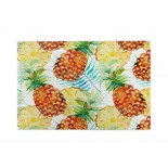 Watercolor Plam Leaf Pineapple puzzle, 1000 Piece Wooden Fun Jigsaw,Apply toFamily 75cm X 50cm