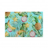 Watercolor Green Palm Leaves Banana Pineapple puzzle, 1000 Piece Wooden Fun Jigsaw,Apply toAdult 75cm X 50cm