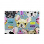 Watercolor Chihuahua Dog Cherry Donut puzzle, 1000 Piece Wooden Fun Jigsaw,Apply toAdult 75cm X 50cm
