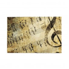 Vintage Music Note puzzle, 1000 Piece Wooden Fun Jigsaw,Apply toFamily 75cm X 50cm