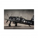 Vintage Airplane Military Aircraft Army puzzle, 1000 Piece Wooden Fun Jigsaw,Apply toFamily 75cm X 50cm