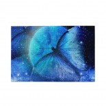 Universe Star Moon Butterfly puzzle, 1000 Piece Wooden Fun Jigsaw,Apply toFamily 75cm X 50cm