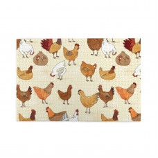 A Brood Of Chickens puzzle, 1000 Piece Wooden Fun Jigsaw,Apply toAnniversary 75cm X 50cm