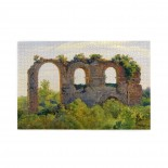 André Giroux A Section Of The Claudian Aqueduct, Rome puzzle, 1000 Piece Wooden Fun Jigsaw,Apply toAnniversary 75cm X 50cm