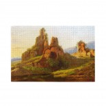 André Giroux Ruins In The Roman Campagna puzzle, 1000 Piece Wooden Fun Jigsaw,Apply toAnniversary 75cm X 50cm