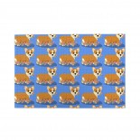 Blue Corgi And Roses puzzle, 1000 Piece Wooden Fun Jigsaw,Apply toAnniversary 75cm X 50cm