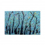 Blue Forest puzzle, 1000 Piece Wooden Fun Jigsaw,Apply toAdult 75cm X 50cm