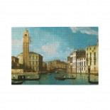 Canaletto Venice- Entrance To The Cannaregio puzzle, 1000 Piece Wooden Fun Jigsaw,Apply toAdult 75cm X 50cm