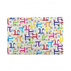 Colorful Pi Math puzzle, 1000 Piece Wooden Fun Jigsaw,Apply to Graduation Gift 75cm X 50cm
