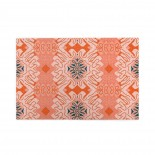 Damask Effect In Oranges puzzle, 1000 Piece Wooden Fun Jigsaw,Apply toAdult 75cm X 50cm