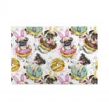 Dog Donuts puzzle, 1000 Piece Wooden Fun Jigsaw,Apply toAnniversary 75cm X 50cm
