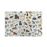 Doggy Doodle puzzle, 1000 Piece Wooden Fun Jigsaw,Apply toAnniversary 75cm X 50cm