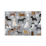 Dogs Mom (2) puzzle, 1000 Piece Wooden Fun Jigsaw,Apply to Graduation Gift 75cm X 50cm