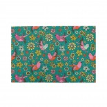 Doodle Birds Floral Pattern puzzle, 1000 Piece Wooden Fun Jigsaw,Apply to Graduation Gift 75cm X 50cm