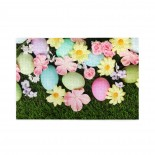 Door Mat Easter Egg Pastel Non-Slip Stain Fade Resistant Soft Living Dining Room Rug For Front Door Entrance Outside Doormat 18x30 puzzle, 1000 Piece Wooden Fun Jigsaw,Apply toAdult 75cm X 50cm