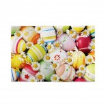 Easter Egg Eggs And Chrysanthemum puzzle, 1000 Piece Wooden Fun Jigsaw,Apply toAnniversary 75cm X 50cm