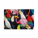 Exotic Flamingo Toucan Parrot Pattern puzzle, 1000 Piece Wooden Fun Jigsaw,Apply to Graduation Gift 75cm X 50cm