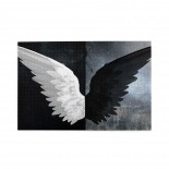 Fantasy Angle Wings Licht Evil puzzle, 1000 Piece Wooden Fun Jigsaw,Apply toAnniversary 75cm X 50cm