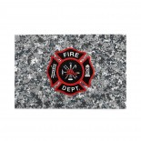 Fire Department Logo Firefighter puzzle, 1000 Piece Wooden Fun Jigsaw,Apply toFamily 75cm X 50cm