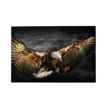 Flying Eagle Art puzzle, 1000 Piece Wooden Fun Jigsaw,Apply to Graduation Gift 75cm X 50cm