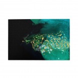Flying Over The Delta Abstract puzzle, 1000 Piece Wooden Fun Jigsaw,Apply to Graduation Gift 75cm X 50cm