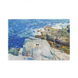Frederick Childe Hassam The South Ledges, Appledore puzzle, 1000 Piece Wooden Fun Jigsaw,Apply toKids as Birthday 75cm X 50cm