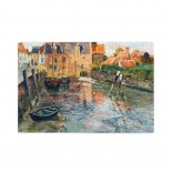 Frits Thaulow Low Water puzzle, 1000 Piece Wooden Fun Jigsaw,Apply to Graduation Gift 75cm X 50cm