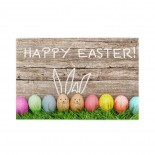 Funny Bunny Easter Eggs On Rustic Wooden Plank puzzle, 1000 Piece Wooden Fun Jigsaw,Apply toAnniversary 75cm X 50cm