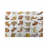Funny Dog Heads Puppy puzzle, 1000 Piece Wooden Fun Jigsaw,Apply toFamily 75cm X 50cm
