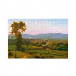 George Inness The Lackawanna Valley puzzle, 1000 Piece Wooden Fun Jigsaw,Apply toFamily 75cm X 50cm