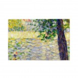 Georges Seurat The Morning Walk puzzle, 1000 Piece Wooden Fun Jigsaw,Apply toFamily 75cm X 50cm