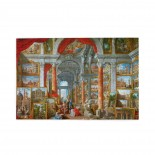 Giovanni Paolo Panini Picture Gallery With Views Of Modern Rome puzzle, 1000 Piece Wooden Fun Jigsaw,Apply toFamily 75cm X 50cm