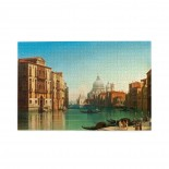 Gustaf Wilhelm Palm View Of Canal Grande In Venice puzzle, 1000 Piece Wooden Fun Jigsaw,Apply toFamily 75cm X 50cm
