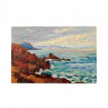 Jean-baptiste-armand Guillaumin The West, Trayas-agay puzzle, 1000 Piece Wooden Fun Jigsaw,Apply toFamily 75cm X 50cm
