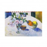 Paul Gauguin Flowers And A Bowl Of Fruit On A Table puzzle, 1000 Piece Wooden Fun Jigsaw,Apply to Graduation Gift 75cm X 50cm
