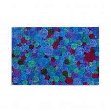 Rolled Paper Blue puzzle, 1000 Piece Wooden Fun Jigsaw,Apply toAnniversary 75cm X 50cm