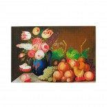 W. B. Gould Still Life With Fruit And Flowers puzzle, 1000 Piece Wooden Fun Jigsaw,Apply toAnniversary 75cm X 50cm